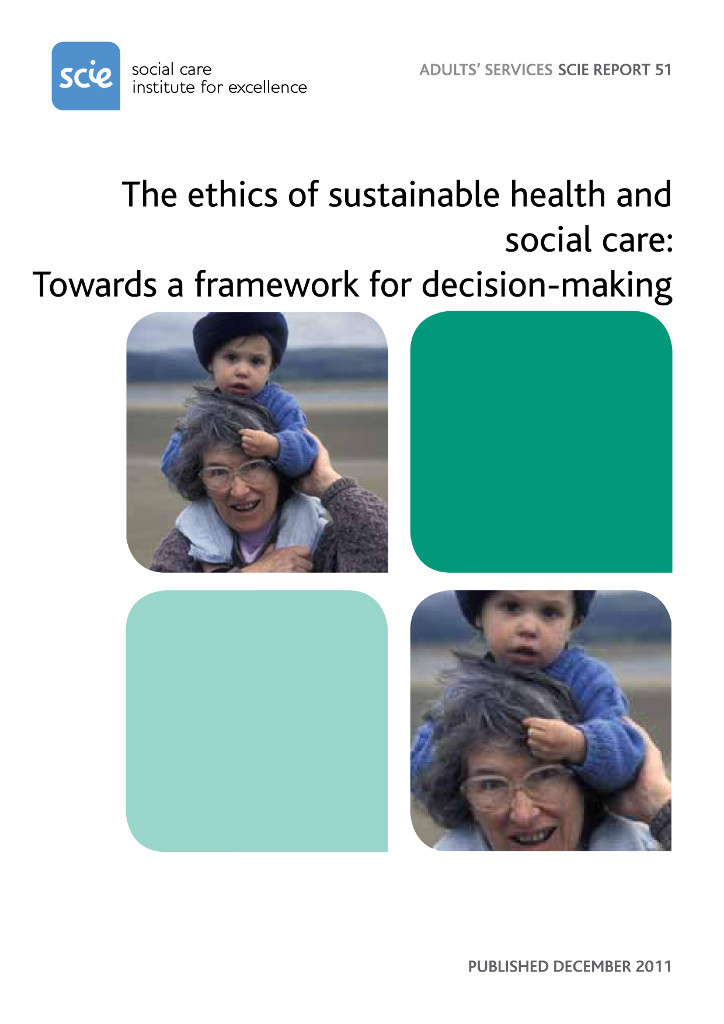 The ethics of sustainable health and social care